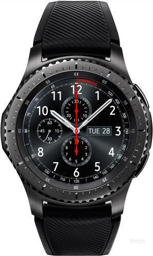 Смарт-годинник Samsung Gear S3 RM-760 Frontier dark grey (SM-R760NDAASEK)