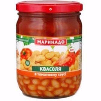 Квасоля Маринадо в томатному соусі, 500 г