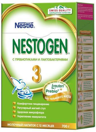 Смесь молочная Nestle Nestogen-3 (с 12 месяцев) 700 г
