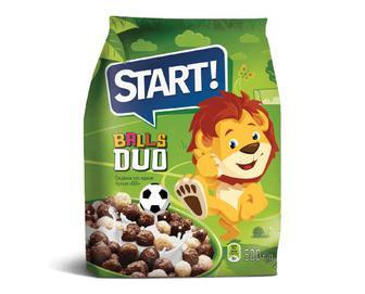 Скидка 31% ▷ Сніданки сухі зернові Start кульки Duo, 500г