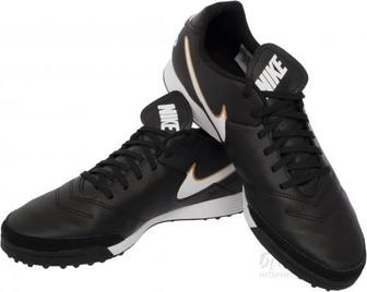 Бутси Nike Tiempo Genio II Leather TF 819196-635 р. 8 чорний