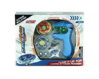 Іграшка для дітей Дзиґа з пусковим механізмом