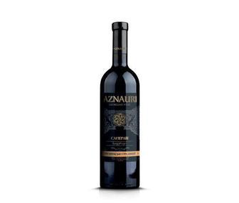 Вино Сапераві червоне сухе Азнаурі 0,75л