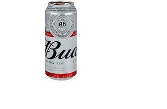 Пиво Bud світле 4,8% з/б, 0,5 л