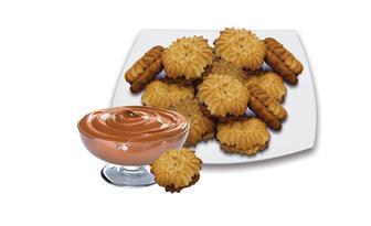 Печиво Флорентіно зі згущеним молоком Конфіттері 100 г