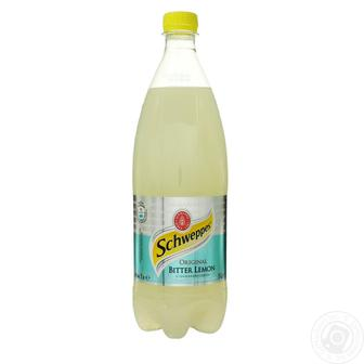 Напій Schweppes Original Bitter Lemon сильногазований 1л