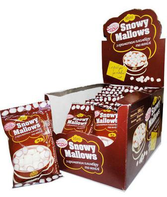 Зефір до кави Mini Snowy Mallows 10г