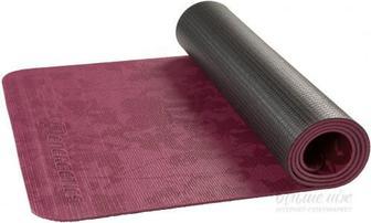 Килимок для йоги Energetics 179823 2 172х61х0.6 см чорний із бордовим