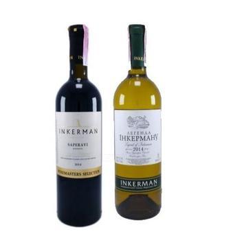 Вино Легенда Инкермана, Древний Херсонес Инкерман кр., белое п/сл 0,75 л