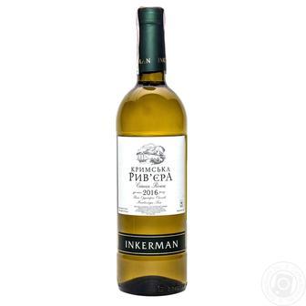 Вино Кримська Рив'єра н/с біле, червоне Інкерман 0,75л