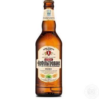Пиво ППБ Бочкове нефільтроване 0,5л