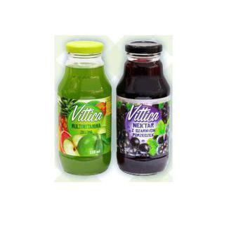 НЕКТАР мультивітамін зелений; з чорної смородини, 330 мл VITTICA