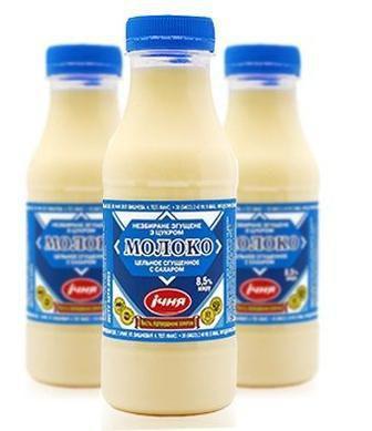 Молоко незбиране згущенне з цукром 8,5% Ічня, пет бут., 480г