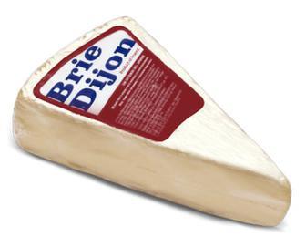 Скидка 28% ▷ Сир «Брі Діжон» з коров'ячого молока, 60% жиру, кг