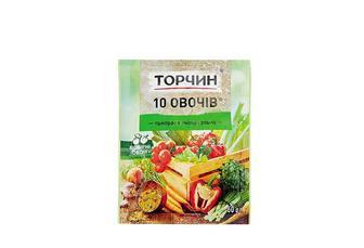 Приправа 10 Овочів, універсальна Торчин 60 г