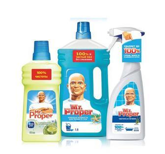 Засоби для прибирання Mr. Proper 500мл 1 л