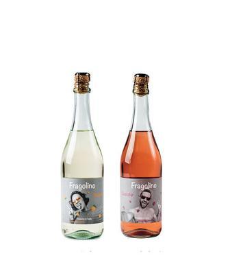 Напій на основі вина Бьянко білий або Розато рожевий Фраголіно