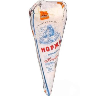 Морозиво ріжок Моржо Три Ведмеді 110г