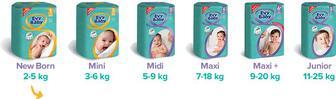 Підгузники Evy Baby 2,3,4,5