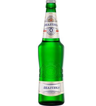 Пиво «Балтика №0», 0.5л