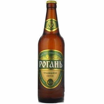 Пиво світле Традиційне Рогань 0.5л 4.7%