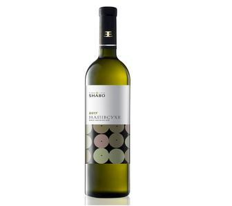 Вино біле Шабо Класика ординарне столове напівсухе 12% 750мл