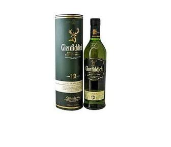 Віскі GLENFIDDICH Single Malt 12 Y.O., 0,5л
