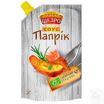 Соус Сирний, Папрік, Тартар Щедро 200г