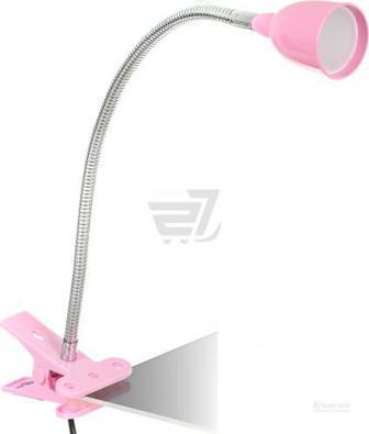 Настільна лампа Jazzway PTL-1215c 4 Вт рожевий