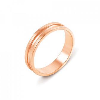 Обручальное кольцо. Европейская модель. Артикул 10127