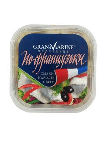 Пресерви GranMarineОселед.по-франц.к/ф в олії300г