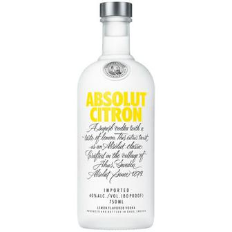 Горілка Absolut Citron 40% 0,7л