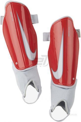Щитки футбольні Nike Y NK CHRG GRD р. L червоний