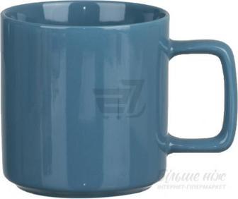 Чашка Fresh Color 330 мл синій Happy Go