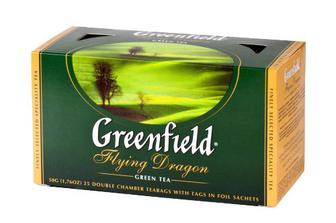 Чай «Flying Dragon», Greenfield, 25пак