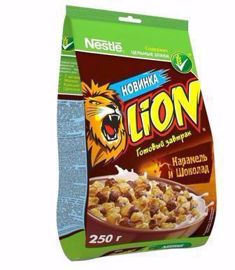 Готовий сніданок Lion Nestle 250г