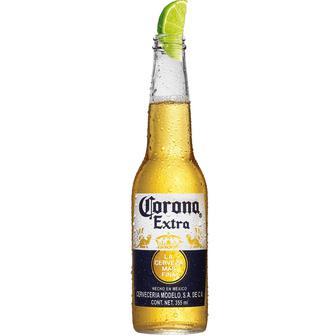 Пиво экстра світле Корона, 0,35 л
