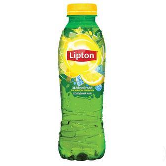 ЧАЙ холодний зі смаком лимону, зі смаком персика, зелений, 1 л LIPTON