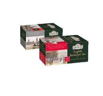 Чай чорний Ерл Грей з бергамотом, Інгліш Брекфест Ахмад,40*2г