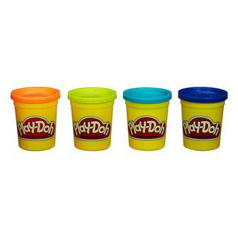 Набор пластилина Play-Doh 4 баночки