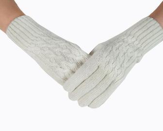 Перчатки Три Косички