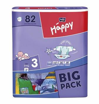 Підгузники Happy big pack