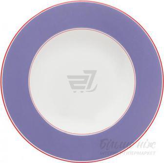 Тарілка супова Emotion 23,5 см фіолетова Auratic