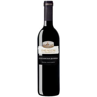 Скидка 33% ▷ Вино Badagoni Алазанська долина червоне напівсолод. 0,75л
