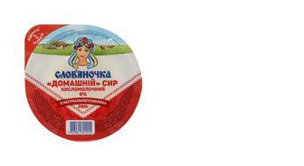 Сир кисломолочний 9%, Слов'яночка, 280г