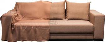 Плед 150x180 см коричневий UP! (Underprice)