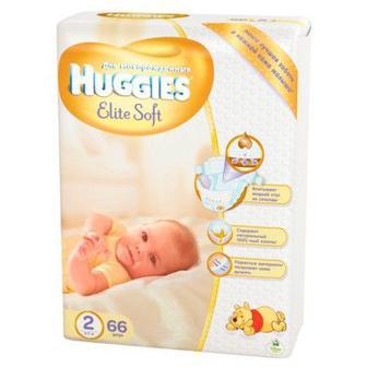 Подгузники Huggies Elite Soft 66/80 шт