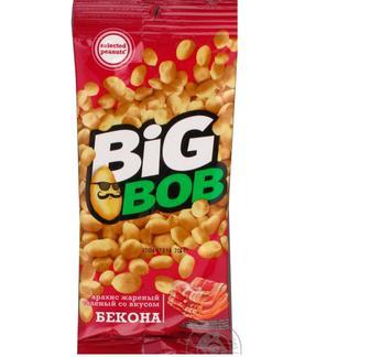 Арахис Big Bob жареный соленый со вкусом бекона 70г