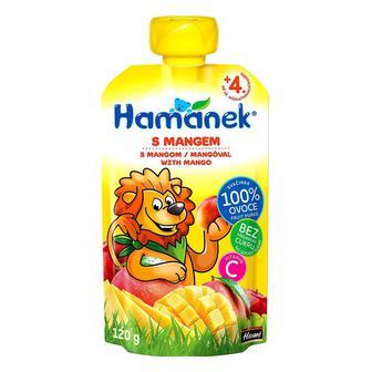 Пюре Hamanek яблоко и манго