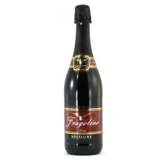 ВИНО ігристе Fragolino Rosso червоне, 0,75 л NOVELLINA